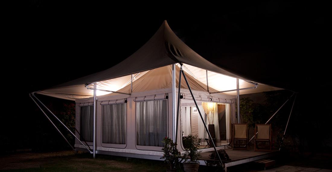 The Virgin Resort Tent
