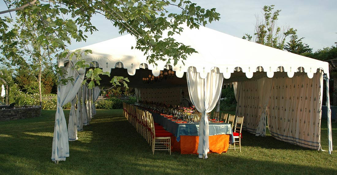 Raj Frame Tent 6mx15m & Large Outdoor Tents | Indian luxury Tents | Waterproof Marquees